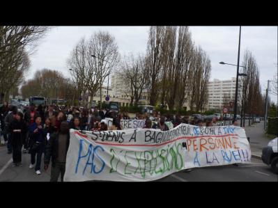 Manif attieké - 15 mars 2014
